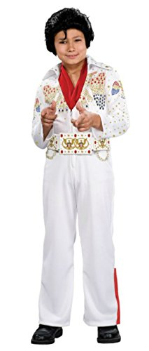 Boys Elvis Deluxe Kids Child Fancy Dress Party Halloween Costume