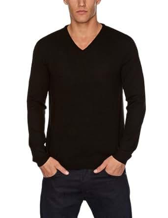 ESPRIT Herren Pullover Regular Fit J30360, Gr. 50/52 (L), Schwarz (black 001)