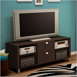 Cheap South Shore 4259600 Cakao 60″ TV Stand in Chocolate (B0048A0MQK)