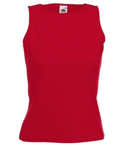 Fruit of the loom Lady-fit sleeveless Womens