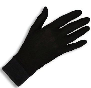 Jasmine Silk Pure Silk Gloves Thermal Liner Glove Inner Ski Bike Cycle Gloves (Medium) 100gsm