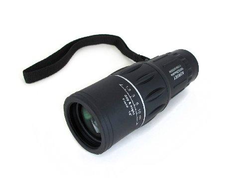 視界抜群!レンズ口径52mm ズーム倍率16倍 単眼鏡 115m/8000m
