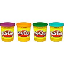 Play-Doh 4-Pack - Blue and Secondary Colors
