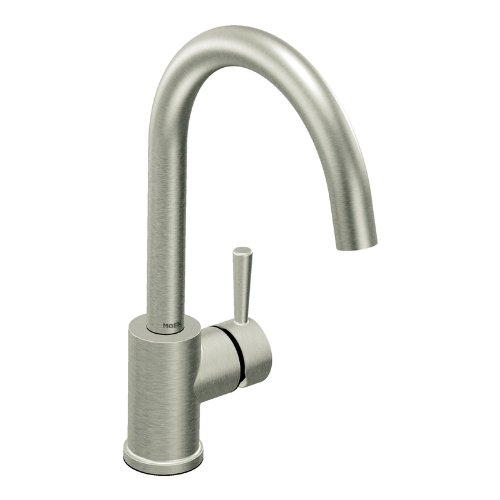 Black Kitchen Faucets Discount: #> Black Friday : Moen 7100CSL Level One-Handle High Arc