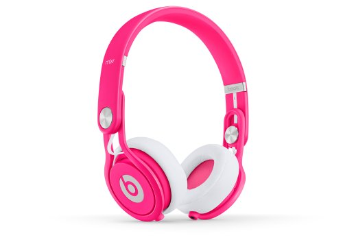 Beats Mixr On Ear Headphones (Neon Pink)