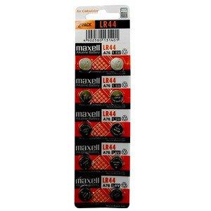 maxell アルカリボタン電池 LR44 10個パック 海外仕様逆輸入品 A76/PX76A/RW82/KA/V13GA/L1154/GPA76/AG13/G13A互換