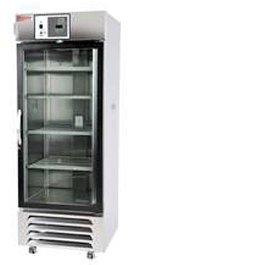 38 Cu. Ft. Chromatography Refrigerator, White, Glass Door, Chart Recorder, 120V front-611215