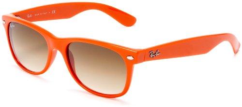RB2132 New Wayfarer Orange Frame Sunglasses