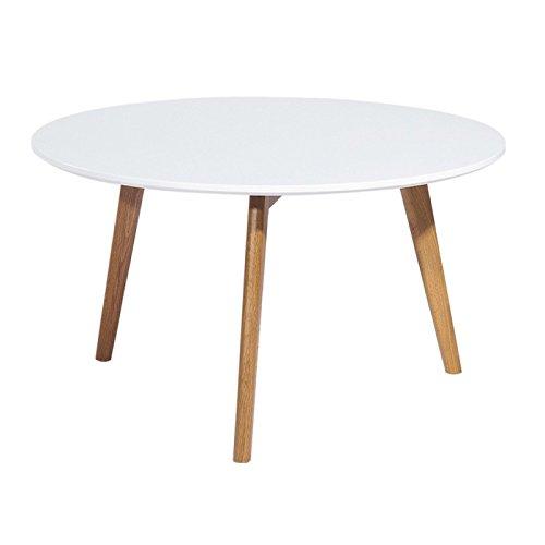 Actual diffusione 9365b Vintage Tavolino Rotondo A 3Piedi Legno 90x 90x 45cm