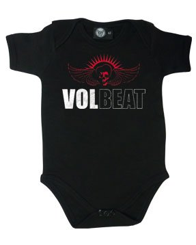 Metal-Kids -  Body  - Bebè maschietto nero 3 mesi