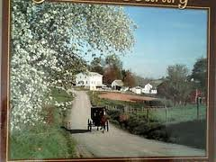 """Amish Country """"Spring Ride"""" 1,000 Piece Puzzle (Limited Edition)"""