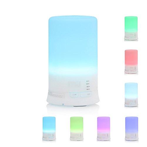 Essential Oils Diffuser, MIU COLOR 100ml Aromatherapy diffuser 7 Color Changing Aroma Diffuser, Large Mist Humidifier, Home Diffuser. (Aroma Diffuser 100ml compare prices)
