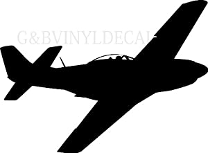 P51 Mustang  Silhouette and Shadows Wallpapers and