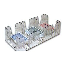 Revolving 1 to 9 Decks Playing Card Tray/Holder