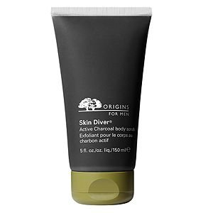 Cheapest Origins for Men Skin Diver Active Charcoal Body Scrub, 5 fl oz by USA - Free Shipping Available