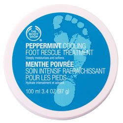 The Body Shop Peppermint Cooling Foot Rescue Treatment Regular, 3.56-Fluid Ounce by The Body Shop