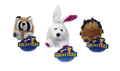 ASPEN PET PRODUCTS INC 0300700 Medium Squatter Dog Toy