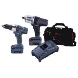 Ingersoll Rand (Irtiqv20-204) 2 Piece Iqv20 Cordless Combo Impact Wrench/Drill Kit