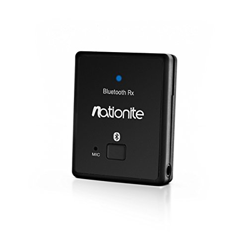 Big Save! Nationite RX41 Portable Bluetooth Audio Receiver w/Built-in Battery - Stream From Your iPh...