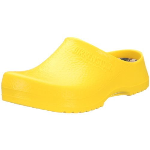 Birki  SUPER BIRKI  Yellow,  Sabot unisex adulto, Giallo, 46