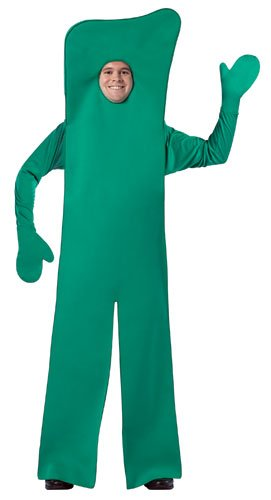 Gumby Open Face Costume - One Size - Chest Size 42-48