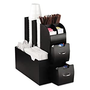Mind Reader Coffee Condiment Caddy Organizer from EMS Mind Reader LLC