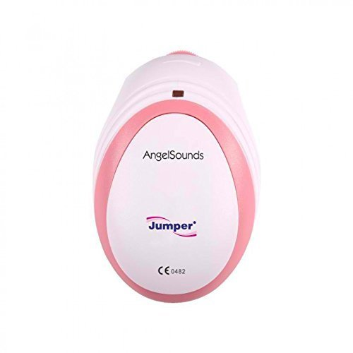 New Angelsounds Baby Fetal Doppler Angel Sound Heart Monitor Detector With FREE CDs + GEL + RECORDING CABLE + BATTERY + NOTE CARD