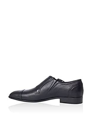 Hemsted & Sons Zapatos Monkstrap (Negro)