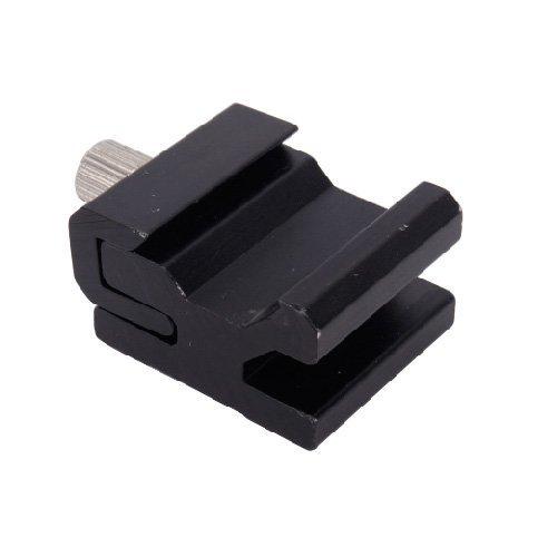 niceEshop(TM) Hot Shoe Base Flash Adapter With 1/4-20 Thread For Nikon/Canon Camera