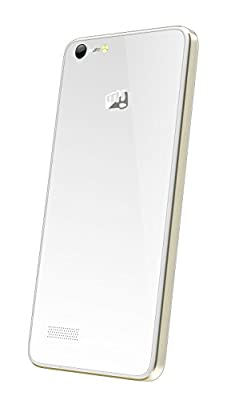 Micromax Canvas Hue AQ5000 (White-Gold)