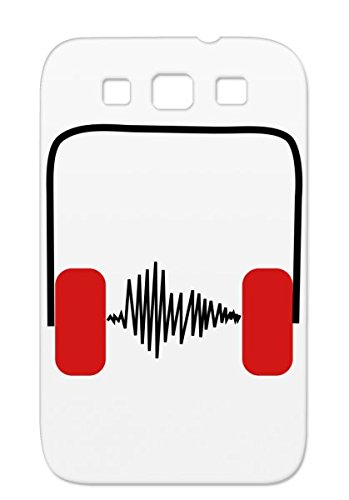 Drummer Music Symbols Shapes Menalive55 Singer Dj House Sheet Headphones Bach Rock Star Pop Concert Mozart Clef Rave Earbuds Anthem Tpu Red Case For Sumsang Galaxy S3 Kopfhoerer Frequenz