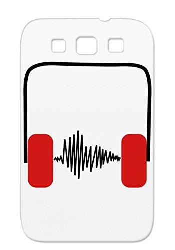 Drummer Music Symbols Shapes Menalive55 Singer Dj House Sheet Headphones Bach Rock Star Pop Concert Mozart Clef Rave Earbuds Anthem Tpu Red Case For Sumsang Galaxy S3 Kopfhoerer Frequenz