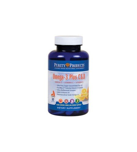 Omega-3 Plus Vitamin C And D