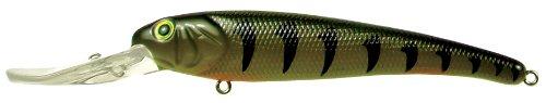 Mann's  Bait Company 4 5/8-Inch Textured Stretch 20+ Hardbait (Hot Perch)