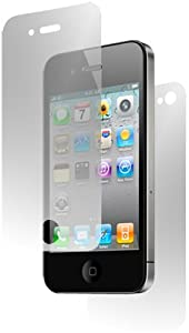 GreyMobiles SCREEN PROTECTOR For Apple iPhone 4 4G HD 16GB & 32GB - FRONT AND BACK FULL BODY PROTECTORS (PACK OF 3)