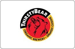 Thirstybear Brewing Company Gift Card ($25) front-1064988