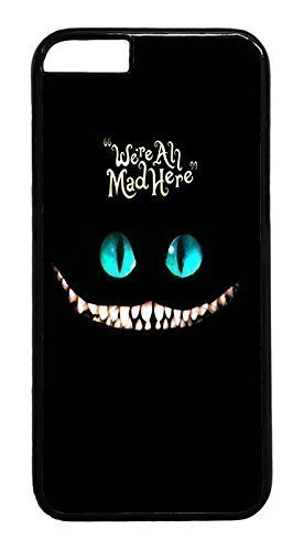 andre-for-samsung-galaxy-s6-phone-case-cover-were-all-mad-here-cat-designer-rugged-hard-plastic-back