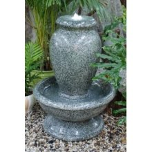 Glazed Granite Bubbling Urn Water Feature