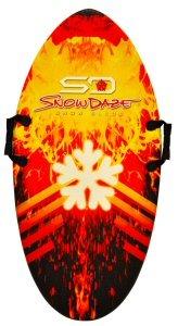 Keeper Sports SnowDaze Snow Bullet Sled Board (42-Inch x 21-Inch x 1.25)