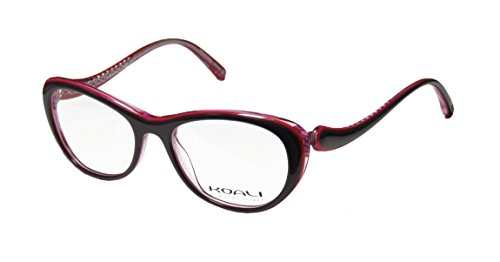 koali-7058k-womens-ladies-rxable-durable-designer-full-rim-eyeglasses-eyeglass-frame-49-16-135-plum-