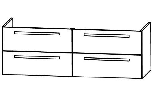 Puris Star Line WUA33147 Bathroom Cabinet (140 CM