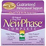 NewPhase Complete Menopausal Support Caplets, 30-Count Boxes (Pack of 2)