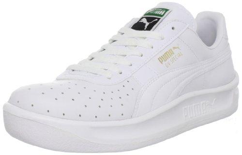 PUMA Men's GV Special Lace-Up Fashion Sneaker, White/White, 11 M US