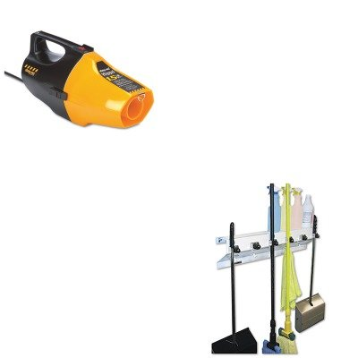 Kitexc3336Wht2Sho9991910 - Value Kit - Shopvac Hippo Handheld Vac (Sho9991910) And Ex-Cell The Clincher Mop Amp;Amp; Broom Holder (Exc3336Wht2) front-466825