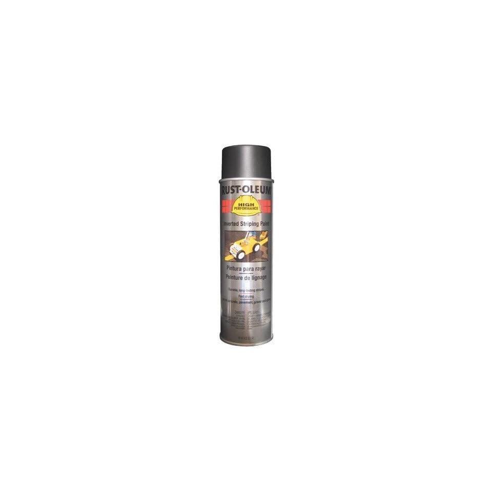 Rust Oleum   High Performance 2300 System Inverted Striping Paints 838 18 Oz Flat Blackstriping Pa 647 2378838   838 18 oz flat blackstriping pa [Set of 6]