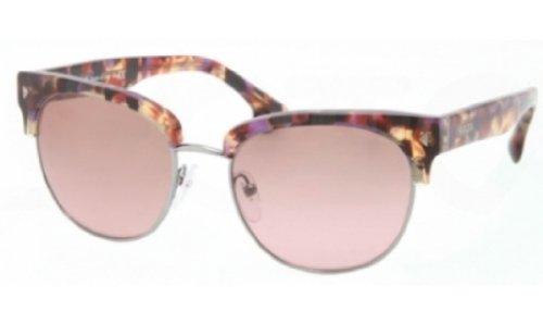 pradaPrada PR08QS Sunglasses-PDN/5P1 Spotted Havana Pink (Green Gradient Lens)-51mm