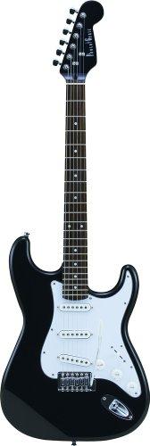 PhotoGenic フォトジェニック エレキギター ストラトキャスタータイプ ST-180/HBK マッチングヘッドブラック ローズウッド指板