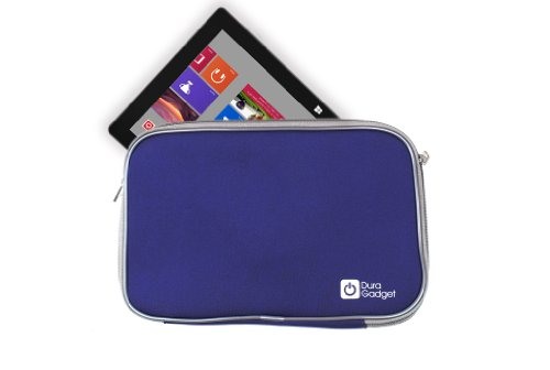 Duragadget Blue Water Resistant Neoprene Case For Microsoft Surface Rt And Surface Pro Picture
