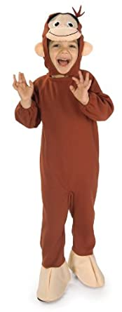 Curious George Costume, Monkey, Small