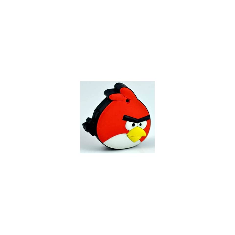 New Angry Bird Style Cartoon USB Flash Drive(Red)